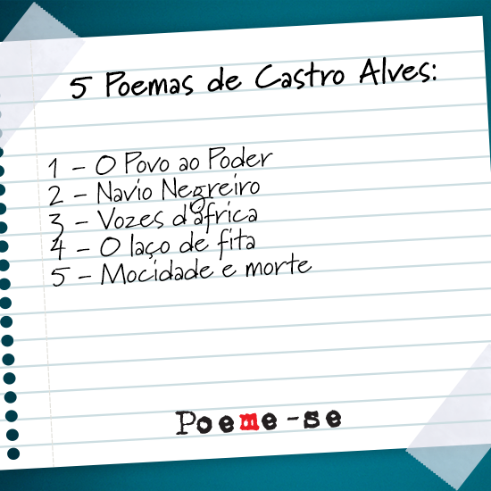 poemas de castro alves
