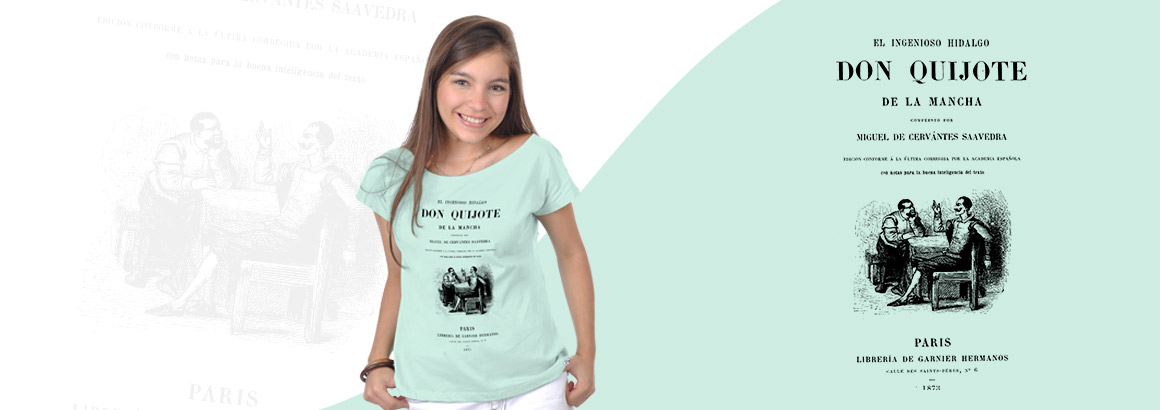 Camiseta Don Quijote