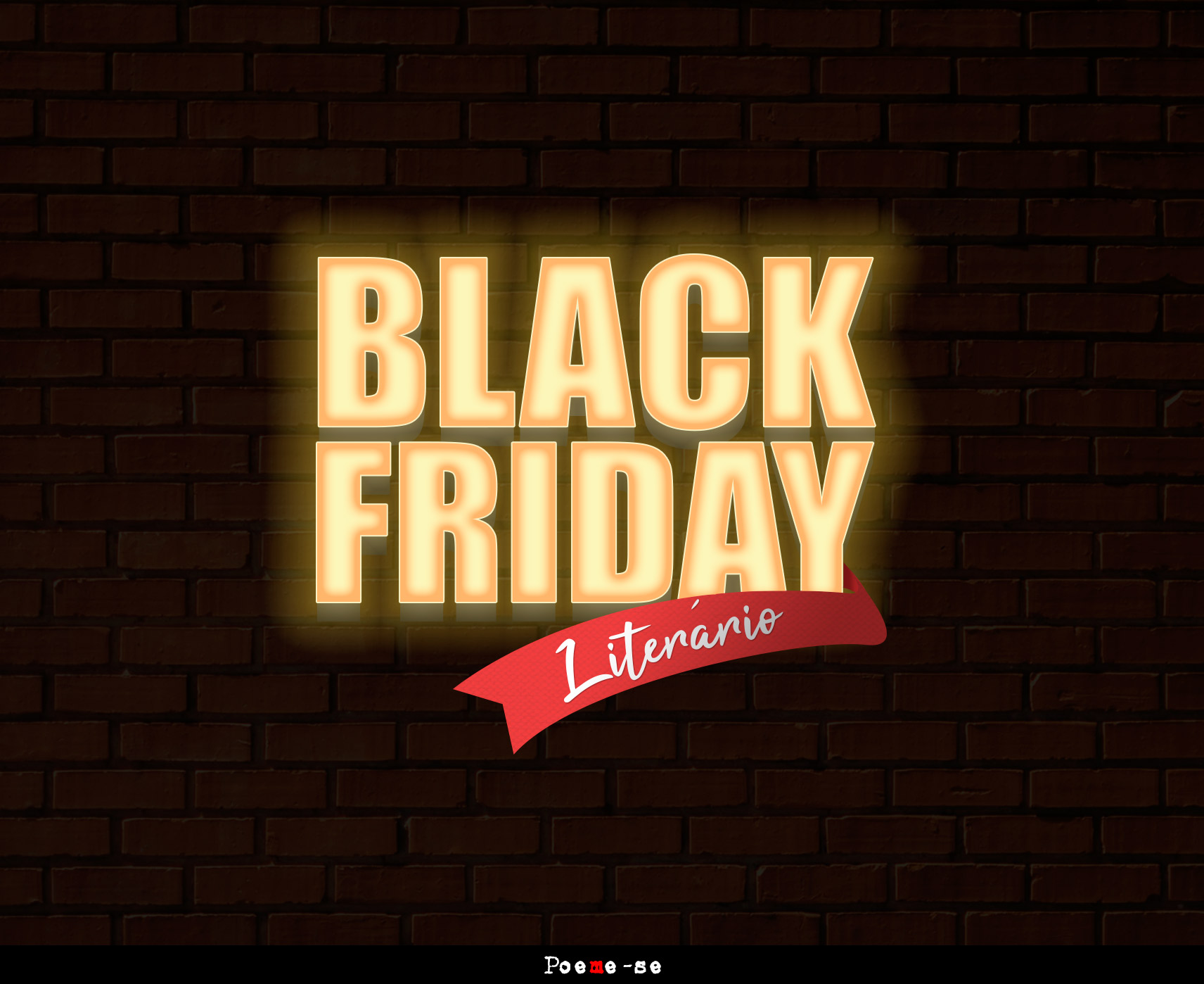 black friday literario e na poeme-se