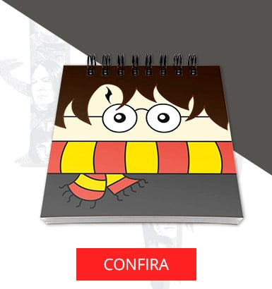Bloco de notas Harry Potter