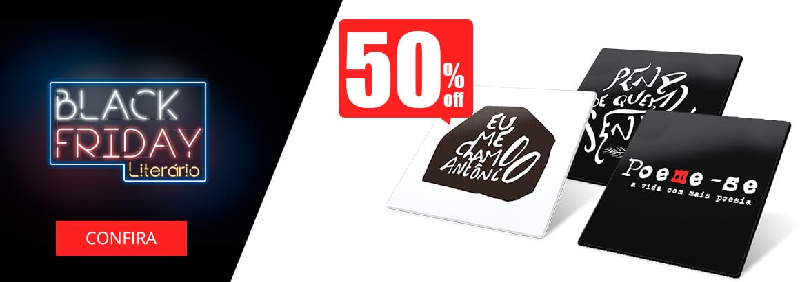 porta-copos com 50% off na black friday ária poeme-se