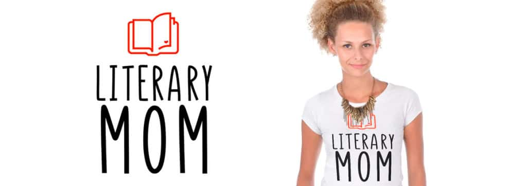 camiseta literaria literary mom