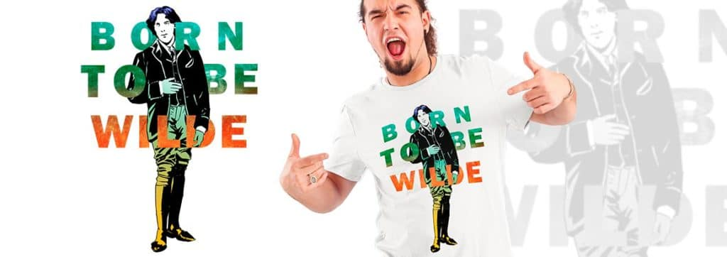 camiseta de humor Born to be wilde